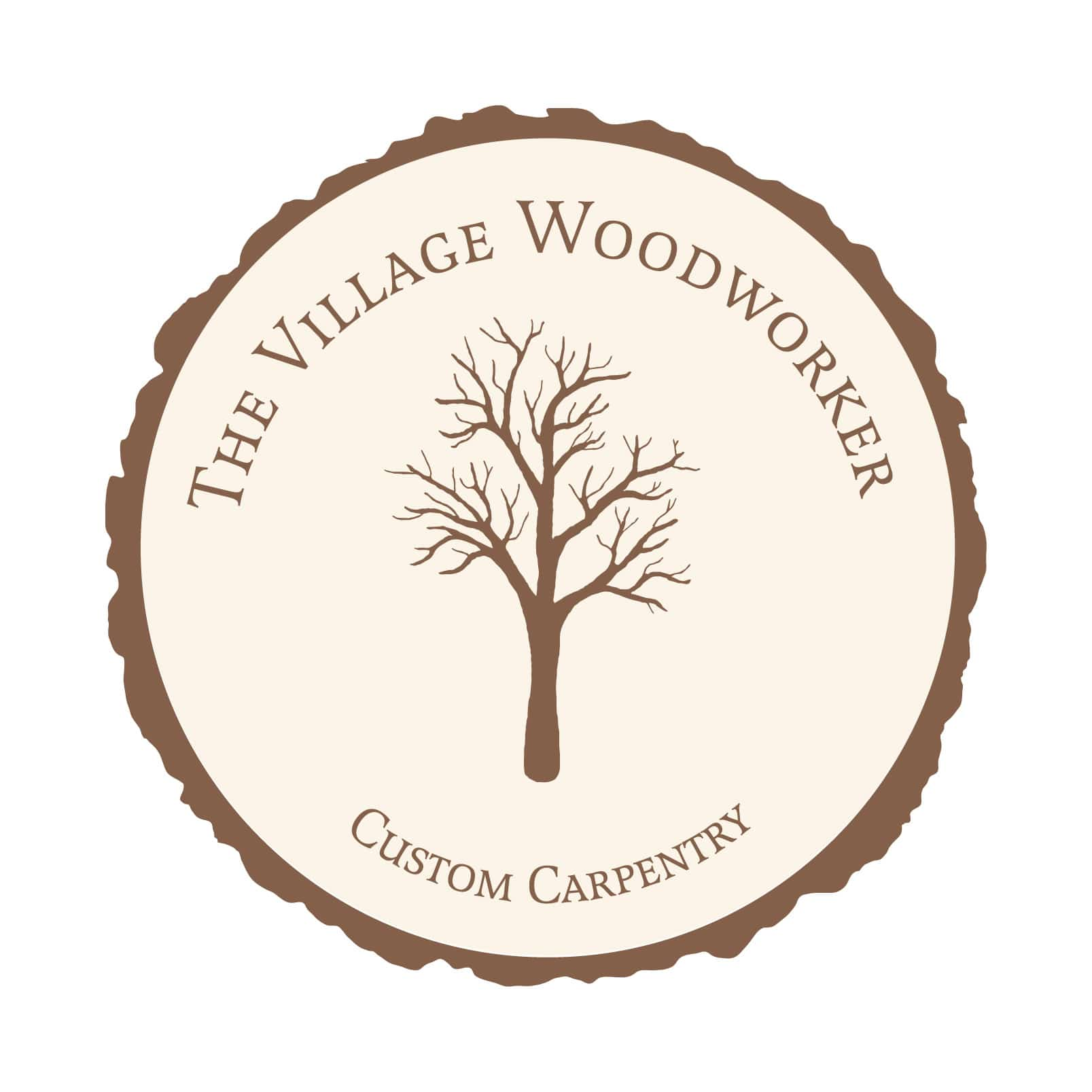 The Village Woodworker logo